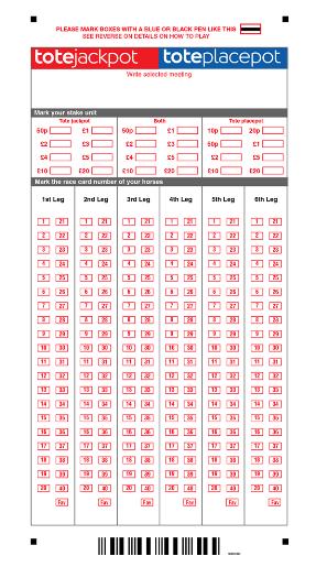 Placepot betting slip template pro football betting advice sports